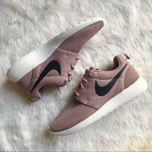 Nike Pink + Black Roshe One Sneakers
